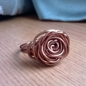 The Bronzed Rose - Ring